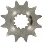 Moose Racing Chromoly-Steel Front Sprocket for Husqvarna Four Strokes with 12-Spline Shaft