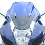 MRA Double-Bubble RacingScreen Windshield for GSXR1000 03-04