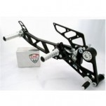 CNC Adjustable Rearsets for Monster 696 01-14