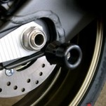 Shogun Swingarm Spools for FZ8 11-13