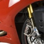 R&G Radiator Guard for Panigale 1199 12-15