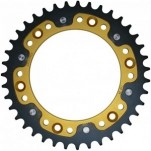 Supersprox Stealth Gold 520 Rear Sprocket for XR650R 00-07