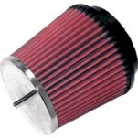 K&N Universal Round Straight Type Air Filter 21/2� I.D. (63.5MM)
