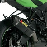 Akrapovic Slip-On Exhaust for ZX6R 09-12