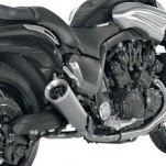Akrapovic Slip-On Exhaust for Vmax 09-16