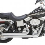 Vance & Hines Big Shots Staggered Full Exhaust for Dyna 91-05