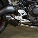 M4 Slip-On Exhaust for FZ-09 14-17