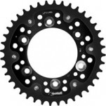 Supersprox Stealth Black 520 Rear Sprocket for Multistrada 620 02-03