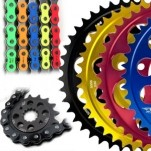 Driven Yamaha Race 520 Conversion Chain & Sprocket Kit