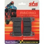 SBS Dual Carbon Front Brake Pads for ZX6R 13