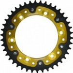 Supersprox Stealth Gold 525 Rear Sprocket for FZ8 10-12