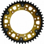 Supersprox Stealth Gold 520 Rear Sprocket for KX500 87-04