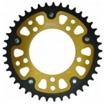 Supersprox Stealth Gold 525 Rear Sprocket for Dorsoduro 750/ABS/SMV 07-12