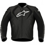 Alpinestars Jaws Perforated Leather Jacket Black