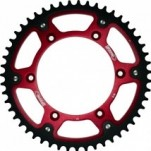 Supersprox Stealth Red 520 Rear Sprocket for TE 450 04-10