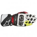 Alpinestars SP-1 Leather Gloves Black/Red/Fluo-Yellow