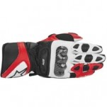 Alpinestars SP-1 Leather Glove Red/White/Black