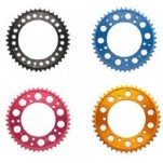 Driven Colored 520 Rear Sprocket for SM 610E 00-04