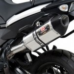 Yoshimura R-77 Slip-On Exhaust for F800GS 11-13