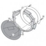 Givi BF04 Easy Lock Tank Ring for ER-6N 09