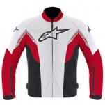 Alpinestars Men's Viper Air Textile Jacket White/Red/Black