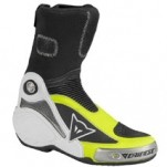 Dainese Axial Pro In Boots Black/Yellow-Fluo