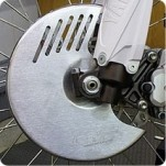 Devol Aluminum Front Disc Cover for XR650R 00-07