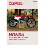 Clymer Manual for XR200 79-03