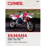 Clymer Manual for YZ125/250 85-87