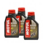 Motul 5100 4T Synthetic Blend Motor Oil