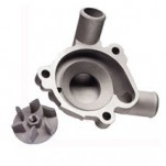 Boyesen Supercooler Water Pump Cover and Impeller Kit for KX250 94-04