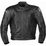 Joe Rocket Men's Sonic 2.0 Leather Jacket Perforated-Black