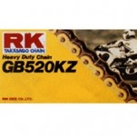 RK Heavy-Duty GB 520 MXZ4 (Gold Color) Chain