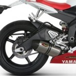 Akrapovic Slip-On Exhaust for YZF-R6 06-07