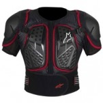 Alpinestars Bionic 2 Protection Short Sleeve Jacket Black/Red (Closeout)