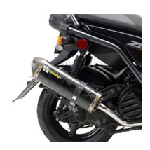 Two Brothers M2 Full Exhaust for Zuma 125 09-14