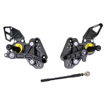 Driven D-Axis Rearsets for Hayabusa 08-14