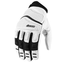 Icon Men's Super Duty 2 Gloves White