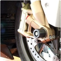 R&G Front Axle Sliders/Protectors for S1000R 14-16