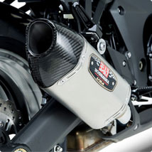 Yoshimura R-77 Dual Slip-On Exhausts for Z1000 10-13