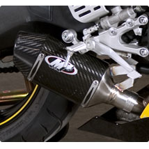 M4 Street Slayer Slip-On Exhaust for YZF-R6 06-14