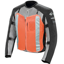Joe Rocket Men's Recon Military Spec Textile Mesh Jacket Grey/Black