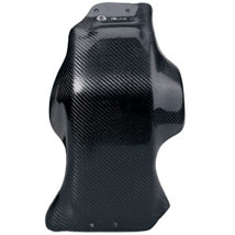 Moose Racing Carbon Fiber Skid Plate By ELine for 450/500 EXC 12-13