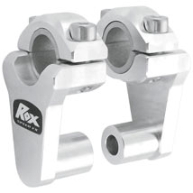 "Rox 2"" Elite Pivoting Riser for 7/8"" or 1-1/8"" Handlebar"