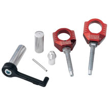 Moose Racing Chain Adjuster Blocks By Zip-TY for YZ250 02-12