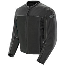 Joe Rocket Men's Velocity Mesh Jacket Black/Black