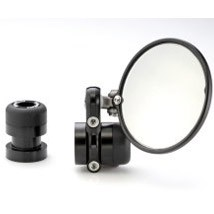 RhinoMoto Bar End Mirror Mount for Thruxton/Street Triple 04-12