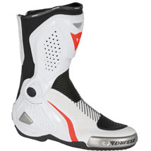 Dainese Torque RS Out Air Boots White/Black/Red-Fluo