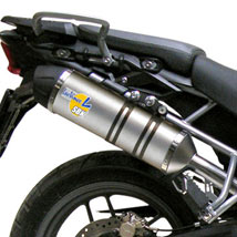 Leo Vince LV One Slip-On Exhaust for Tiger 800 11-14 (Closeout)