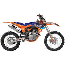 N-Style Race Team Graphic Kit for KTM 125-450 SX 11-12